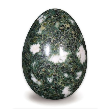 Preseli Stonehenge Bluestone Crystal Egg ~48mm