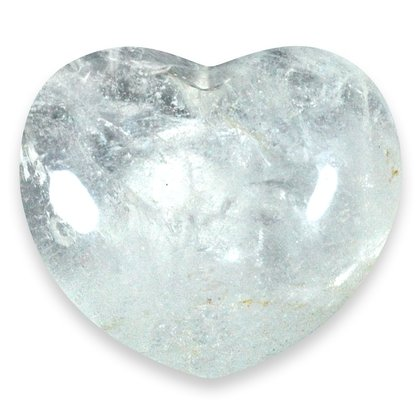 Quartz Crystal Heart ~45mm