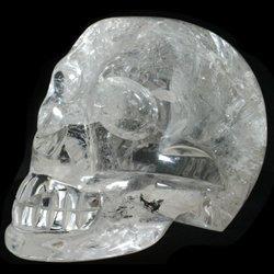 Quartz Crystal Skull ~13 x 8.5cm