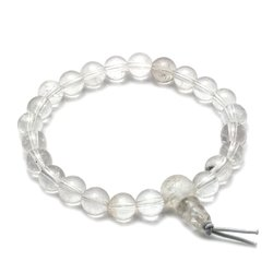 Quartz Power Bead Bracelet