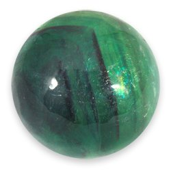 Rainbow Fluorite Medium Crystal Sphere ~4.5cm