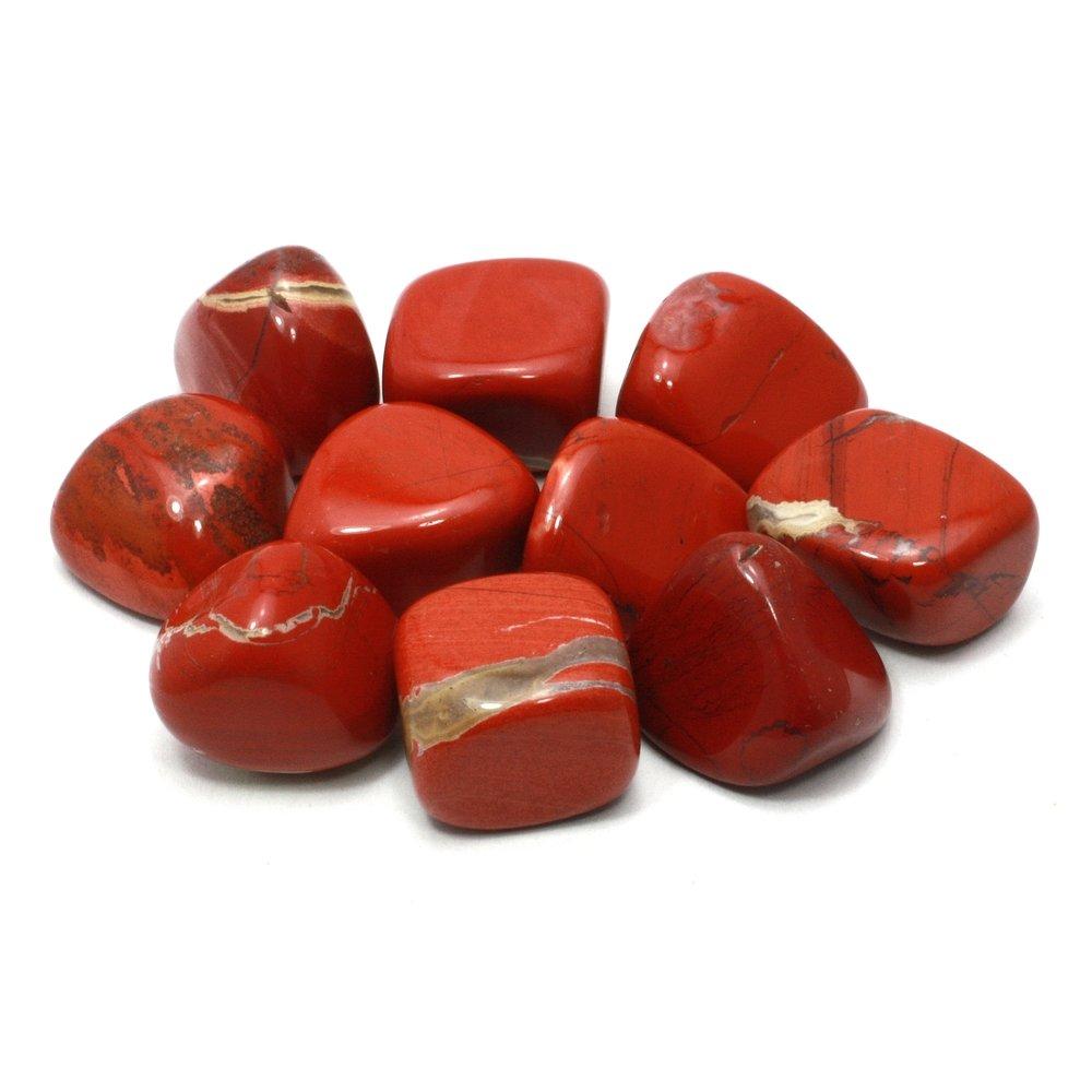 Single Stone Fire Agate Tumble Stone 20-25mm