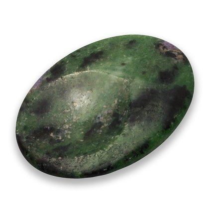 Ruby Zoisite Thumb Stone