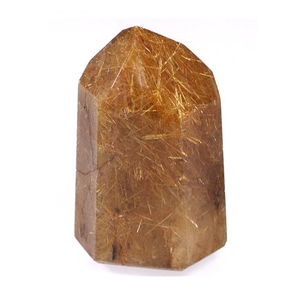 Rutilated Gold Quartz Polished Point ~4.3 x 2.7cm