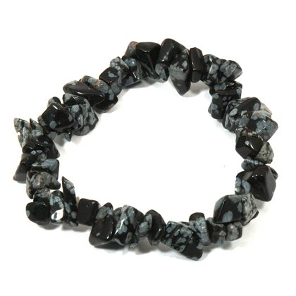 obsidian image gemstone is strand loading snowflake itm beads round s