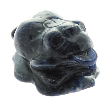 Sodalite Money Toad  - 40mm