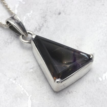 Super Seven & Silver Faceted Pendant ~ 23mm