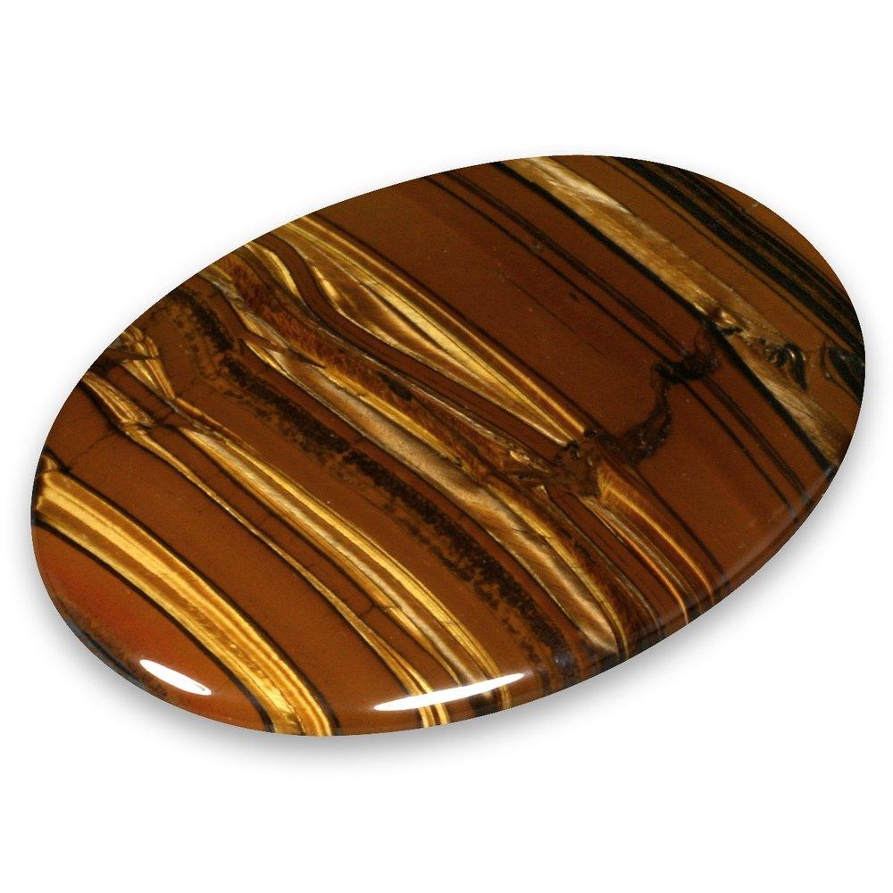 Tiger Jasper Palm Stone
